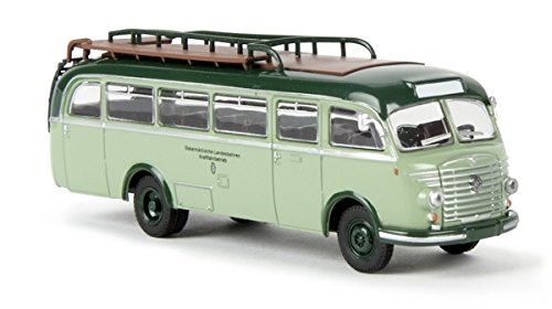 Intercity Bus (Steyr 480 A Intercity Bus - Assembled - Starline -- Steiermarkische Landesbahnen (2-Tone Green, German Lettering))