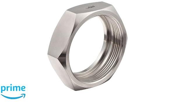 Steel and Obrien BAA04000-304 Stainless Steel 13H Hexagonal Nut 4 4
