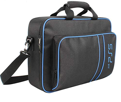 PREMIFY Storage Bag for PS5, Heavy Duty Durable Nylon Carrying Bag for PS5, Large Capacity Playstation 5 Bags One…