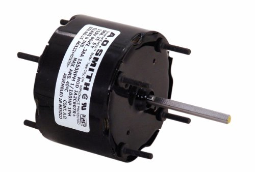 A.O. Smith 692 3.3-Inch 1/100 HP, Sleeve Bearing, CWSE Rotation, 2-1/4-Inch by 1/4-Inch Shaft General Purpose Shaded Pole Motor