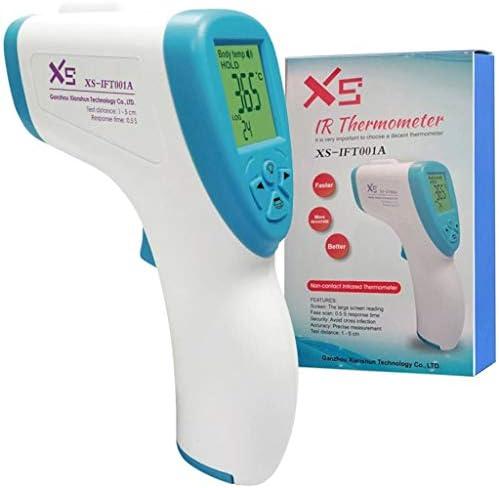 Termómetro digital para la frente de niños sin contacto con infrarrojos, medición inmediata, termómetro de alarma de fiebre profesional, adecuado para bebés y adultos