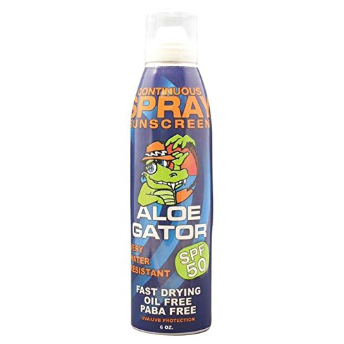 Aloe Gator Sun Care Adult Continuous Spray