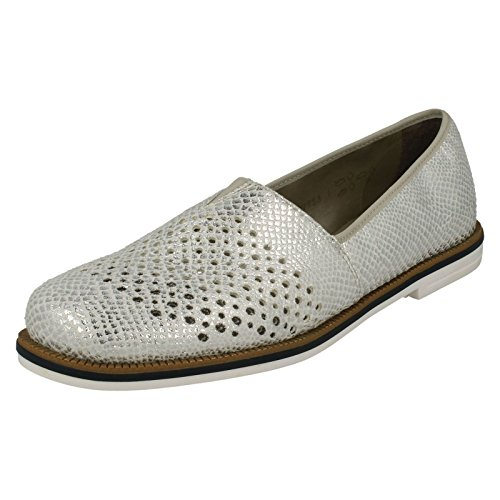 White Slip 45555 Women's On Casual Shoes Rieker q6Ywftf