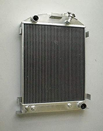 Aluminum Radiator For 1932 Ford HI-BOY Grill Shells 3ROW CHEVY Engine