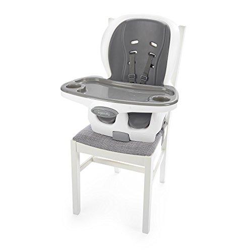 415BNBQr4bL - Ingenuity SmartClean Trio Elite 3-in-1 High Chair - Slate - High Chair, Toddler Chair, & Booster