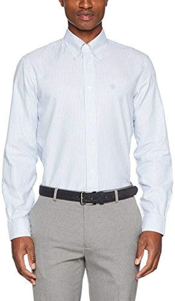 BROOKS BROTHERS 100096139 Camisa, BLU (Light/Pastel Blue), 35 para Hombre: Amazon.es: Ropa y accesorios