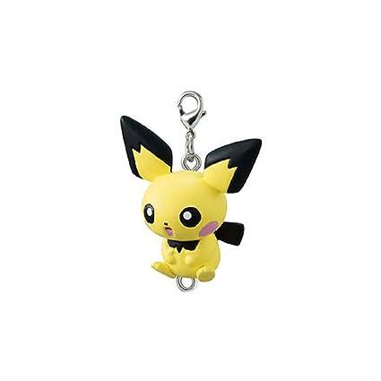 Amazon.com : Pokemon Sun Moon Fastener Keychain - Pichu ...