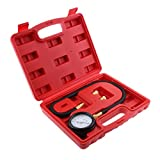 Jili Online TU-12 0-100psi Auto Engine Oil Pressure Tester Pressure Gauge Test Tool Kit Universal for Cars
