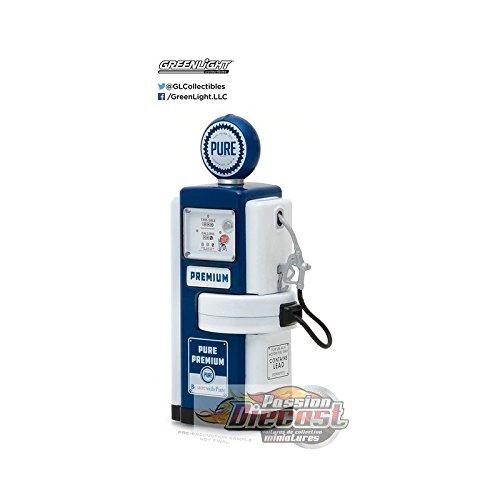 Vintage Gas Pump Series 3 Set of 3 Pumps 1/18 Diecast Models by Greenlight 14030 A B C