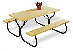 Fiesta Charm Picnic Table Frame - Frame Only