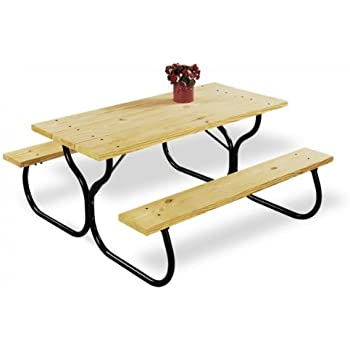Amazon.com: Jack Post Fiesta Charm Picnic Table Frame - Frame Only ...