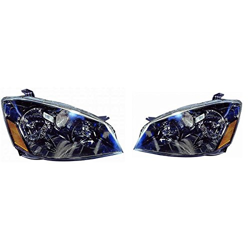OE Replacement Headlight Assembly NISSAN ALTIMA 2005-2006 Multiple Manufacturers NI2502156N Partslink NI2502156