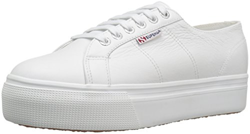 Superga Women's 2790 Fglw Fashion Sneaker, White, 37 EU/6.5 M US