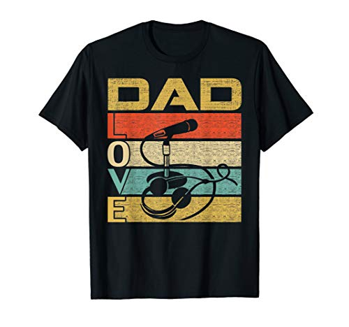 Retro Vintage Dad Love Ham Radio Operator Funny Father's Day T-Shirt (Radio Ham Vintage)