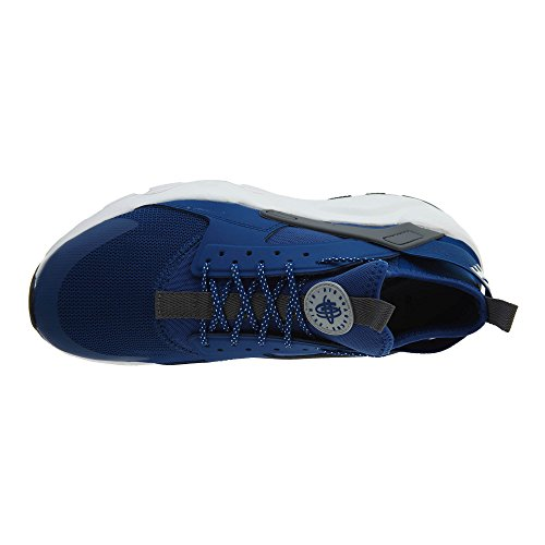 196980c07ea2 NIKE Air Huarache Run Ultra Men s Running Shoes Gym Blue Wolf Grey-White  819685