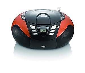 Lenco SCD 37 - Reproductor de CD, MP3 y radio FM (importado)