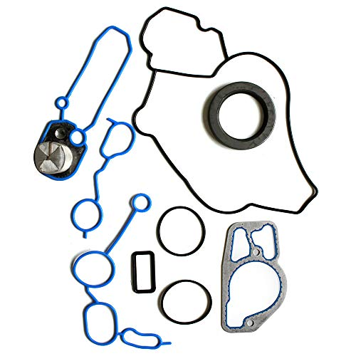 SCITOO Timing Cover Gasket Set Replacement for Ford E-350 F-250 F-350 Super Duty 7.3L V8 99-03 Engine Timing Cover Gaskets Kit Sets ()