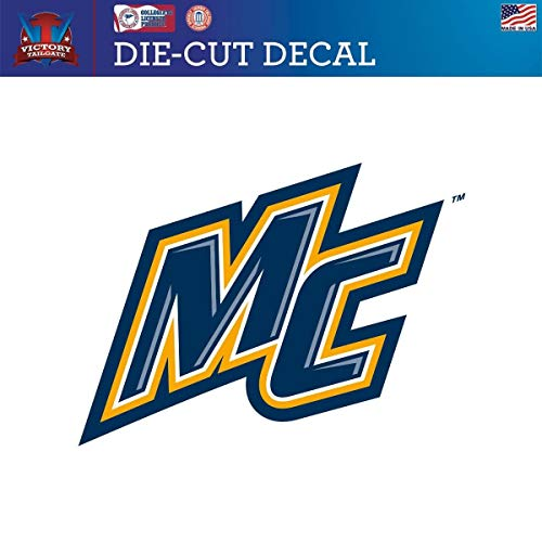 Victory Tailgate Merrimack College Warriors Die-Cut Vinyl Decal Logo 1 (Approx 6x6)