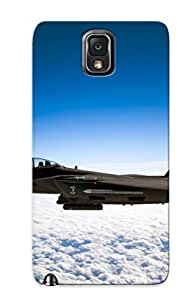 Defender Case With Nice Appearance (mcdonnell Douglas F-15e Strike Eagle ) For Galaxy Note 3 / Gift For New Year's Day