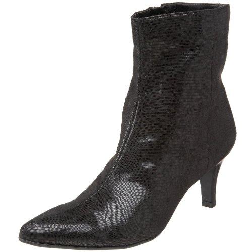 Bandolino Women's Gaelin Ankle Boot,Black Fabric,6 M ()