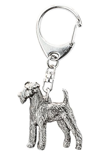 Irish Terrier Made in U.K Artistic Style Dog Key Ring Collection