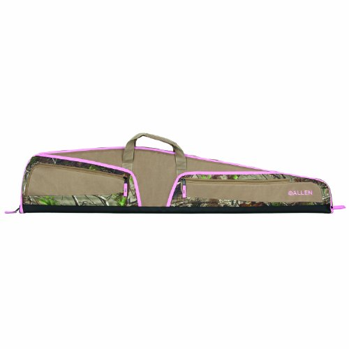 Allen Willow Scoped Rifle Case, Realtree Xtra Green/Pink Accents, 46 (Best Youth 22 Rifle)