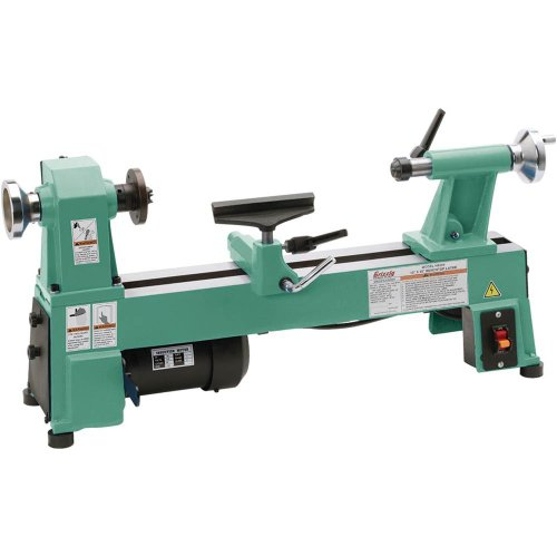 Grizzly H8259 Bench-Top Wood Lathe, 10-Inch by Grizzly