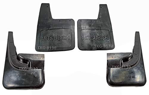 K1AutoParts Front & Rear Splash Guard Mud Flap Fender For (2WD) Mitsubishi L200 Strada 1995-2005
