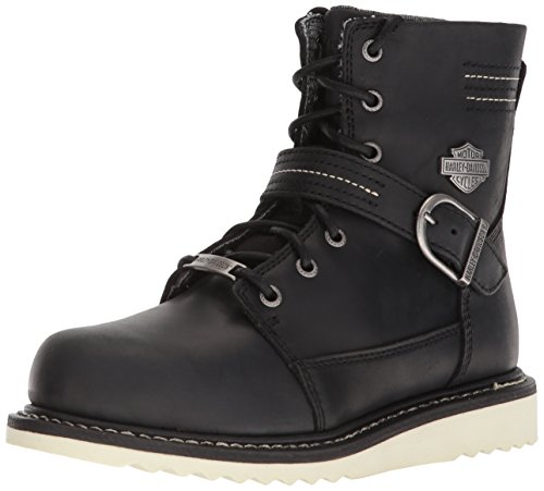 Harley-Davidson Women's Darton Motorcycle Boot, Black, 9.5 Medium US