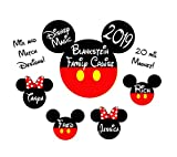 Custom Disney inspired Cruise Magnet - Personalized Door Magnet - Sign