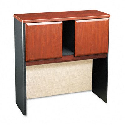 Bush Business Furniture Series A Collection 36W Hutch in Hansen Cherry - Hutch Collection