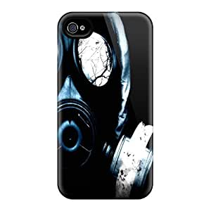 For Iphone 4/4s Protector Case Gas Mask Phone Cover