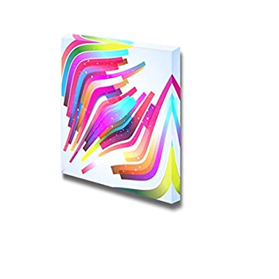 Canvas Prints Wall Art - Colorful Abstract Design | Modern Wall Decor/Home Decoration Stretched Gallery Canvas Wrap Giclee Print. Ready to Hang - 16
