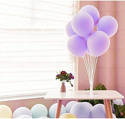 Amazon Funry 100 Pack 10 Inch Light Purple Latex Macaron
