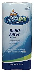Mr. Clean AutoDry Car Wash 10-Uses Refill Filter (Pack of 3)