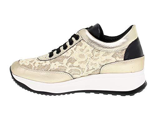 Ruco Zapatillas Line Mujer Cuero Oro Ruco1304o nFanp6