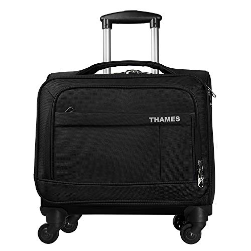 THAMES 4 Wheels 15.6 inch Laptop Overnighter Softsided Briefcase