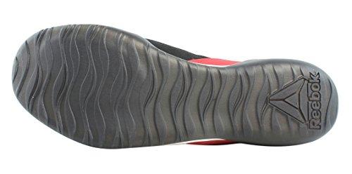 Reebok Men's Combat Noble Trainer Sneaker, Men's Black/White/Vitamin C, 9.5 M US by Reebok (Image #3)