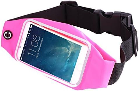 Elitaccess cinturón de Running para Smartphone Negro/Rosa: Amazon ...