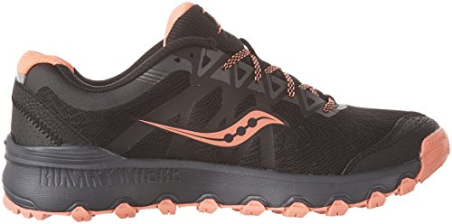 Saucony Running Coral Women's Caliber Black Shoes TR rFr4tq