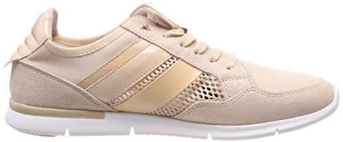 502 Tommy Basses dusty Sneaker Light Weight Femme Rose Sneakers Hilfiger Metallic TxPgnwT