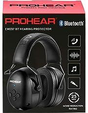 PROHEAR (Upgraded) 037 Bluetooth 5.0 gehoorbescherming hoofdtelefoon met ingebouwde microfoon en geluidsreductie voor werken en plezier, SNR 30dB