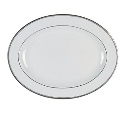 (Royal Doulton Oxford Platinum 13 1/2-Inch Medium Platter)