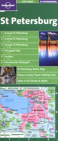 Lonely Planet St Petersburg (Lonely Planet City Maps)