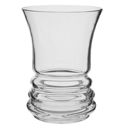 Dartington Crystal Wibble Wide Vase VA2337 Dartington Wibble Wide Vase Decorative_Accessories Vases