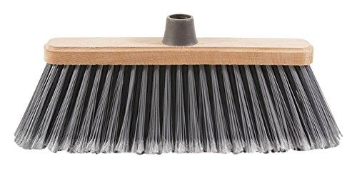 Perfect spazzesterni Broom for Outdoor Use, Plastic, Natural, 28x 6.5x 14cm LA PIACENTINA 0020B