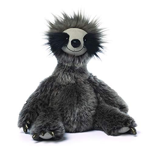 GUND Roswel Sloth Stuffed Animal Plush Dark Gray, 15″