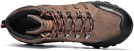 トレッキングシューズ メンズ ハイキングシューズ 防滑 登山靴 防撞 耐摩耗 衝撃吸収 アウトドア キャンプ シューズ柔軟 通気性 スニーカー ハイカット 大きいサイズ スポーツ 登山靴 滑り止め 四季通用