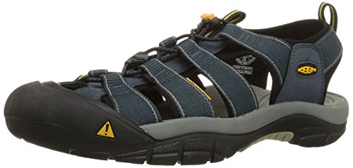 KEEN Men's Newport H2 Sandal,Navy/Medium Grey,10.5 M -