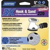 Norton ProSand MULTI-AIR 5'' Multi-Hole Pattern Hook & Sand Disc, 100 grit, 10 pack